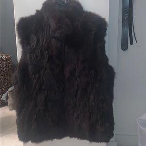 Brand New rabbit fur vest